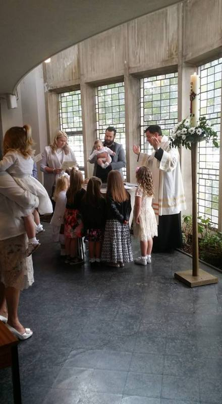 Baptism / Christening, Crownhill The Ascension
